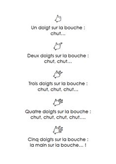 Preschool Songs, Kids Songs, Preschool Calendar, French Poems, Info Board, Bullying Prevention, French Resources, Petite Section, French Immersion