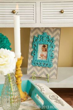 Color scheme - yellow, gray and turquoise