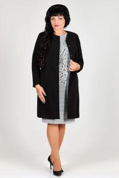 ЗЛАТА 2214 Платье+тренч High Neck Dress, Dresses For Work, Fashion, Turtleneck Dress, Moda, Fashion Styles, Fasion, High Neckline Dress
