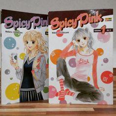 Mangá Josei Spicy Pink da manga-ká Wataru Yoshizumi, tem apenas 2 volumes que foram publicados aqui pela editora panini e tem resenha no blog: http://papelfilosofal.blogspot.com.br/2015/06/manga-spicy-pink.html #mangá #josei #wataruyoshizumi #romance