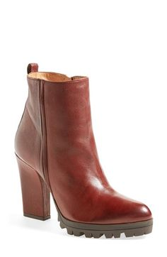 Alberto Fermani 'Vervelli' Lugged Sole Bootie (Women) available at #Nordstrom