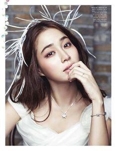 Lee Min Jung in Elle Korea