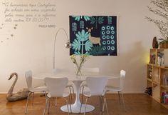 Open house - Paola Abiko. Veja: http://www.casadevalentina.com.br/blog/detalhes/open-house--paola-abiko-3012 #decor #decoracao #interior #design #casa #home #house #idea #ideia #detalhes #details #openhouse #style #estilo #casadevalentina #diningroom #saladejantar