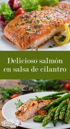 56 clean eating no bake snacks - Clean Eating Snacks Salmon En Salsa, Clean Eating Snacks, Healthy Eating, Gourmet Recipes, Healthy Recipes, No Bake Snacks, Salmon Recipes, Original Recipe, Easy Meals