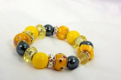 FREE SHIPPING  Banana Boat Wrist Beaded by timetalentjewels, $15.00