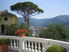Rapallo, Italy: A snapshot my husband took from our hotel balcony during our honeymoon