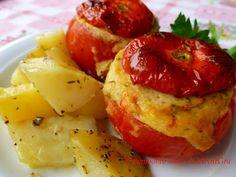Il Pomodoro Rosso di MAntGra: Pomodori ripieni al riutilizzo