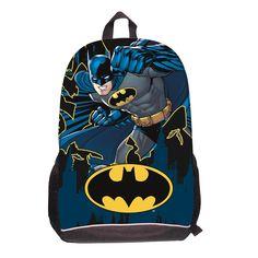 Batman School Backpack Bag Children Backpacks Infants  School Kids Batman  Bag   Price  716b73a3f5f60