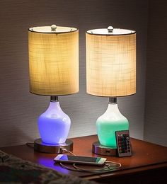 Nursery Lamp Table Lamps For Bedroom Set of 2 Student Kids Living Room Bedside #RelyALight