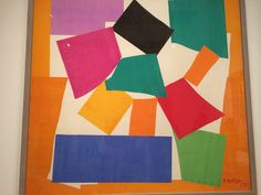 The Snail, Matisse Cut Outs @ Tate Modern May 2014