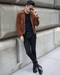 Phil Valles - Ray Ban Sunglasses, Allsaints Denim, Uniqlo Belt, James Perse T Shirt - Summer's End Mens Boots Fashion, Mens Fashion Week, Mens Fashion Suits, Men's Fashion, Fashion Black, Uniqlo, Black Jeans Men, Lauren, Skinny