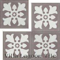 Julien Cement Tile, from Villa Lagoon Tile