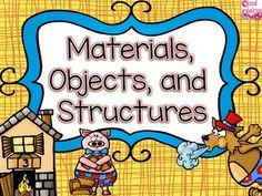 MaterialsMaterials, Objects and Everyday structuresThe purpose of this unit is to help students understand the purpose of materials. objects, and everyday structures.Students will learn that:-Objects have observable characteristics and are made from materials. -Materials have specific properties. -An object is held together by its structure. -The materials and structure of an object determine its purpose. -Humans make choices related to their use of objects and materials that have a direct…