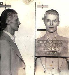 David Bowie, arrêté à New York en 1976