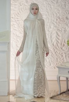 Irna La Perle, Luminescence – The Actual Style Islamic Fashion, Muslim Fashion, Modest Fashion, Fashion Dresses, Wedding Dresses For Girls, Girls Dresses, Prom Dresses, Muslim Brides, Muslim Women