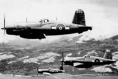 Vintage Airplanes Vought Corsair RNZAF as and Espirito Santo Bougainville 1945 01 Ww2 Aircraft, Aircraft Pictures, Military Aircraft, Aircraft Images, Military Weapons, Black Hawk Helicopter, Pilot, F4u Corsair, Air Festival