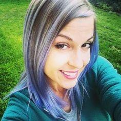 New Season, New Look! ! Purple hair don't care!!! Who's loving our Stylist Christels  new look? Hair by designer stylist Liz!!! #purplehair #seasonssalon #lorealpro #color #colorspecialist #btc #btcpics #LP #ilovecolor #pravana @misslizbliz #Padgram