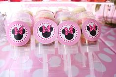 Hostess with the Mostess® - 1st Birthday Minnie Mouse Girls Party