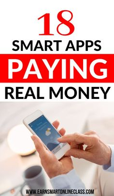 Searching for apps that can earn you real money from home? Great! Here's a list of 26 awesome money-making apps that you can use to earn extra money from home. Learn how to make money from the comfort of your home, all in your spare time. #moneymakingapps #smartphoneapps #sidejobstomakemoney #easyonlinejobs #makemoneyfast #makemoneyonlinefree #earnmoneyfromhome Earn Money From Home, Make Money Fast, Easy Online Jobs, Work From Home Careers, Apps That Pay, Online Business Opportunities, Flexible Working, Extra Money