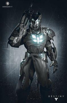 Destiny Titan ELIAS by Vakama3