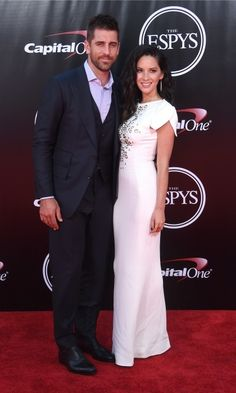 """Olivia Munn and Aaron Rodgers  The X Men actress and the Green Bay Packers quarterback have been dating since 2014. While the pair don't have any children, they are parents to puppies Frank and Chance. The actress opened up about completing her family with Aaron to Good Housekeeping magazine in 2015. """"Chance made us a family…he and Aaron have changed my life in every way. My world has become so much brighter, sweeter and lovelier,"""" she said """"I feel grounded with them in my life."""""""