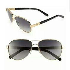 462102e370 Tory Burch Small Polarized Metal Aviator Sunglasses available at cheap  rayban glasses