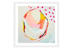 One Kings Lane - Emerging Artists - Brittany Bass, Pink Polka Dot