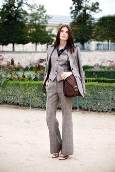 Сильный характер: костюм-тройка в женском гардеробе 8