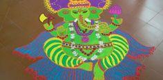Rangoli Designs of God