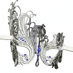 Luxury Mask Women's Swan Metal Filigree Laser Cut Venetian Masquerade Mask, Masquerade Masks for Women Venetian Masquerade Masks, Look Good Feel Good, Columbia Jacket, Laser Cutting, Jackets For Women, Swan, Filigree, Luxury, Metal