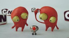 Push the Button - Cartoon Network ID shortie by Meindbender. Hi!