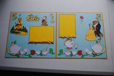 Disney Beauty and the Beast Scrapbook by OwlAlwaysBeCrafting, $12.00: