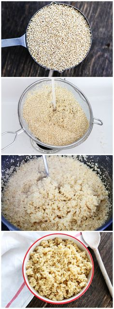 How to Cook Quinoa! Tips on how to make perfect quinoa! I promise it is easy!