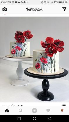 ideas vintage wedding classic flower for 2019 - Torten - Kuchen Pretty Cakes, Cute Cakes, Beautiful Cakes, Amazing Cakes, Buttercream Wedding Cake, Wedding Cupcakes, Party Cupcakes, Buttercream Icing, Birthday Cakes
