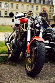 Ducati 750 ssie cafe racer Motos Aude - leboncoin.fr