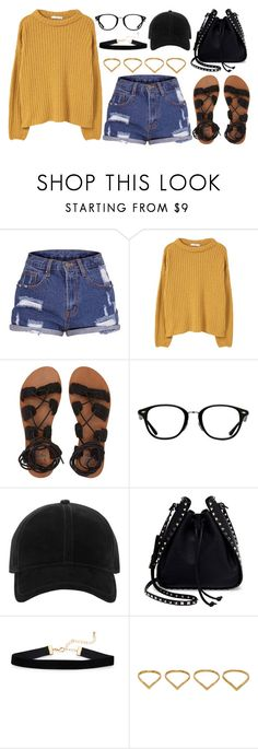 """1326."" by asoul4 ❤ liked on Polyvore featuring MANGO, Billabong, Ray-Ban, rag & bone, Valentino and Ana Khouri"