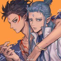 Read Chap 12 from the story Na tra và Ngao bính by (Lee Sang Joon) with reads. Fantasy Story, Fantasy Books, Fantasy Art, Manga Art, Anime Art, Cute Anime Guys, Anime Boys, Fujoshi, Anime Comics