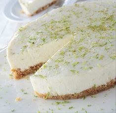 lime-os-sajttorta-recept Cheesecake, Food And Drink, Lime, Desserts, Cheesecake Cake, Postres, Deserts, Cheesecakes, Key Lime