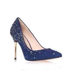Source image: Kurt Geiger heels http://www.kurtgeiger.com/paola-blue-suede-35-5-vince-camuto-signature-shoe.html