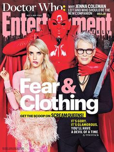 Obsessed with the Scream Queens Entertainment Weekly cover!