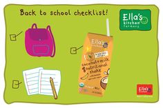 Give little + big tummies exactly what they need this school year!