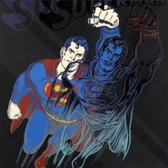 Superman, par Andy Warhol