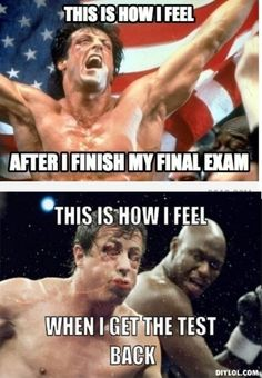 Exam Day is one of the most hilarious day to every student's life. Let's look at these memes and you will surely feel the stress get relieved before final exams. Exams Memes, Exam Humor, Exams Funny, Study Break, Funny Memes, Funny Quotes, School Memes, Law School, School Life