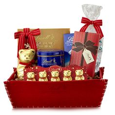 Warm Up Winter Lindt Chocolate Gift Basket #lindorsmoothstyles