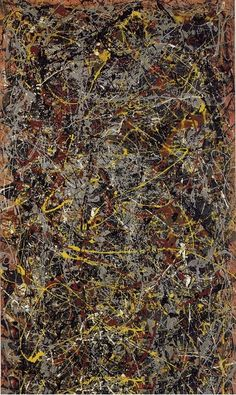 And now I'm having flashbacks of The Stone Roses...Number 5 ~ Jackson Pollock