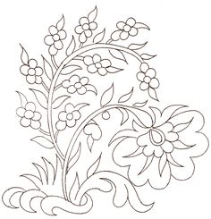 Embroidery Pattern. jwt