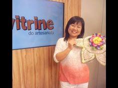 Toalhinha de mesa em crochê com Cristina Luriko | Vitrine do artesanato na TV - YouTube