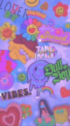 Retro Wallpaper Iphone, Hippie Wallpaper, Trippy Wallpaper, Iphone Wallpaper Tumblr Aesthetic, Iphone Background Wallpaper, Butterfly Wallpaper, Aesthetic Pastel Wallpaper, Kids Wallpaper, Aesthetic Wallpapers