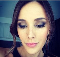 Rebecca Judd- Brown and grey smokey eye