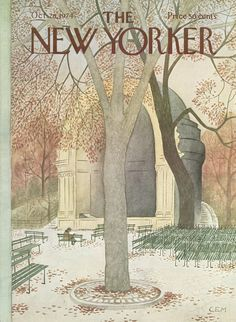 The New Yorker - Monday, October 28, 1974 - Issue # 2593 - Vol. 50 - N° 36 - Cover by : Charles E. Martin